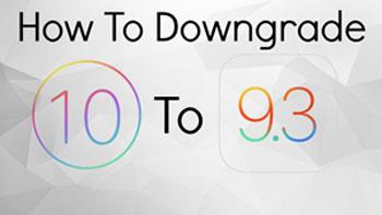 iOS10ダウングレード