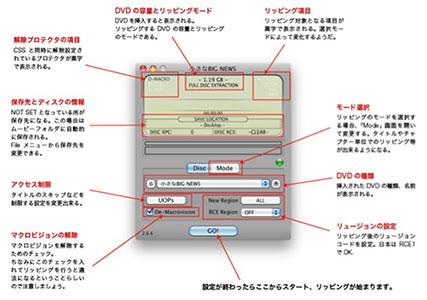 レンタルDVDコピーフリーソフト