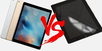 iPad Pro vs Galaxy View