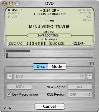 dvd コピー mac フリーソフト