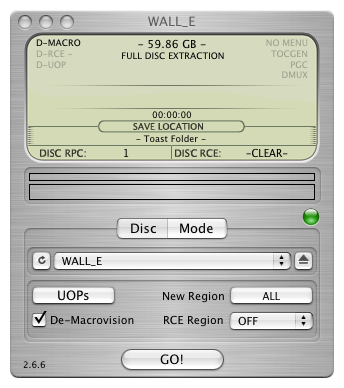 Mac DVDリッピングフリーソフト