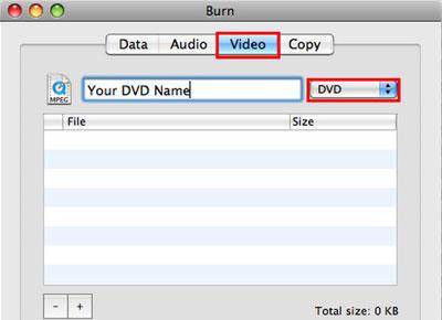 mac dvd 作成