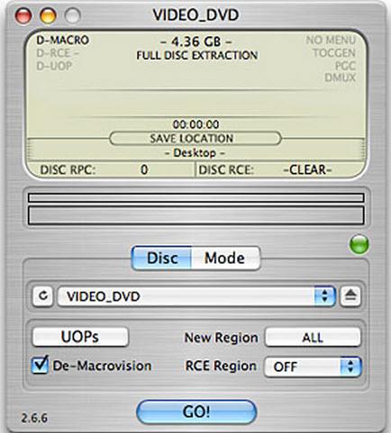 MacでDVDをリッピングフリー