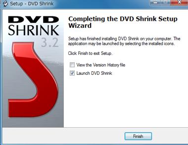 DVD Shrink使い方