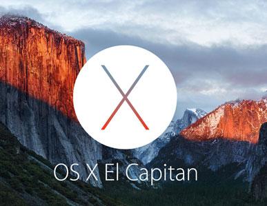 OS X 10.11エル・キャピタン