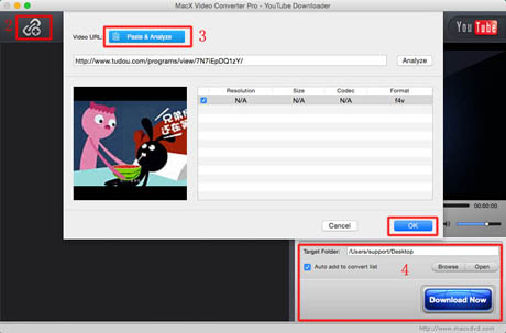 4K video downloader使い方