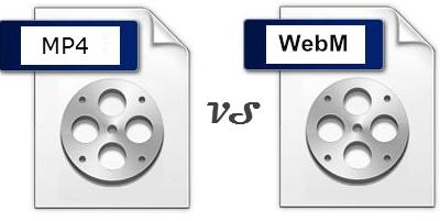 WebMとMP4違い