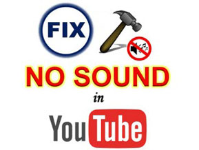 how to fix youtube no sound