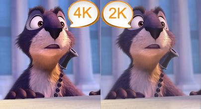 4K VS 2K