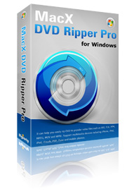Free Download MacX DVD Ripper Pro for Windows to Rip DVD to MP4, FLV, MOV, iPhone, iPod