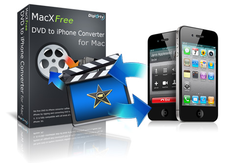 MacX Free DVD to iPhone Converter for Mac