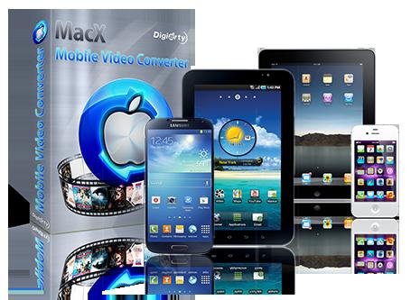 "MacX Mobile Video Converter 一站式移动设备视频转换丨""反""斗限免"