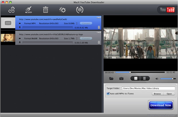 MacX YouTube Downloader 4.1.1