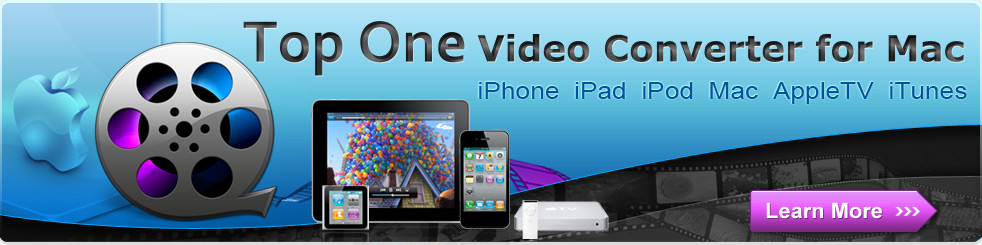 Convert video to iPod on Mac