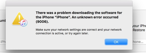 Fix Itunes Error 9006 On Mac Or Pc When Updating To Ios 12 11