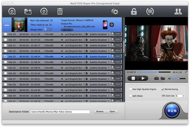 screenshot - MacX DVD Ripper Pro (24 Saat Kampanya)
