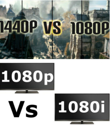 hd tv shows 1080i vs 1080p