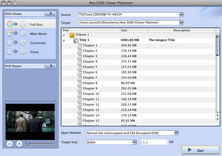 How to Copy Protected DVD with Mac DVD Copy Software