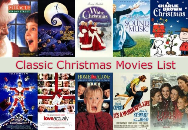 Classic Christmas Movies List - Free Download Christmas Movies ...