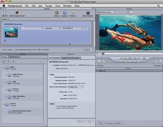 how to save a final cut pro project as mp4