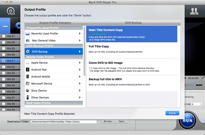 How to Copy Protected DVD to DVD on Mac OS X