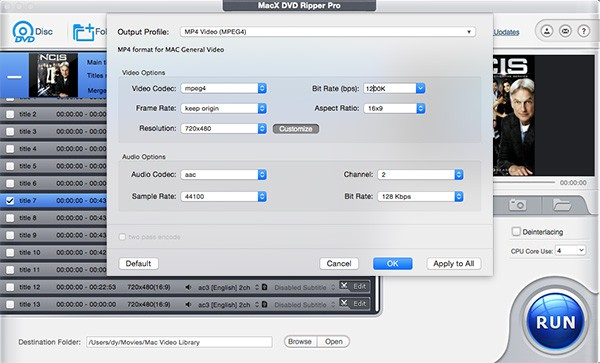 convert dvd to mp4 mac