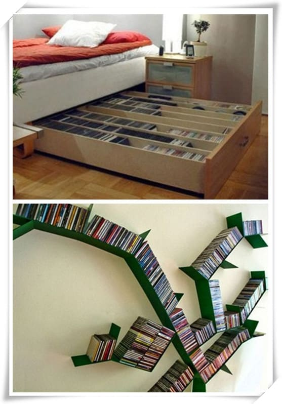 Dvd Storage Solutions dvd storage ideas to store thousands of dvds in small place