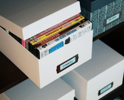 Dvd movie storage