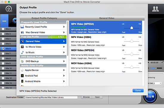 How to Import DVD to iMovie Free to Create Your Own Videos