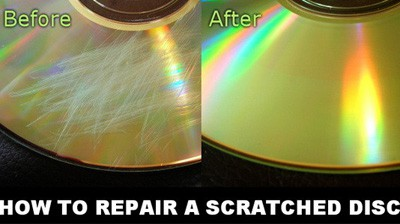 simplest ways to remove scratches from dvd. Black Bedroom Furniture Sets. Home Design Ideas