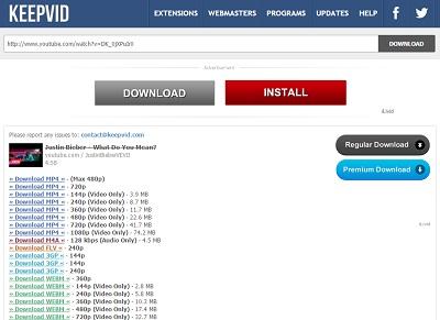Youtube downloader for mac el capitan free download 720p1080p keepvid ccuart Gallery