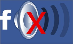 """Can""""t get sound on Facebook problem fixes"""