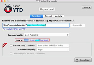 free youtube mp4 converter mac