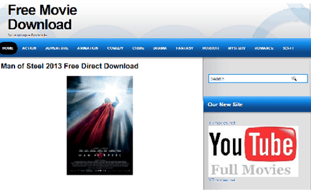 free hd movie download sites