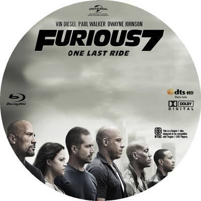 Copy Furious 7 DVD To