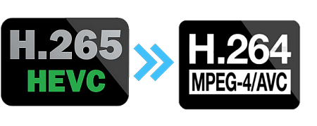HEVC/H 265 to H 264: How to Free Convert H265 to H264 with