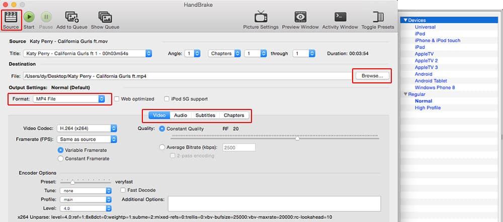 Download Handbrake for Mac to Rip DVD and Convert Video