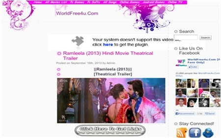 how to download hd bollywood movies for free