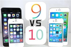 iOS 9 upgrade to iOS 10 advantages & disadvantages