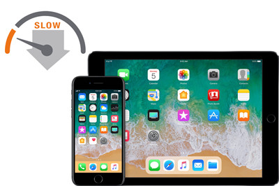 iOS 11 problems with slow apps