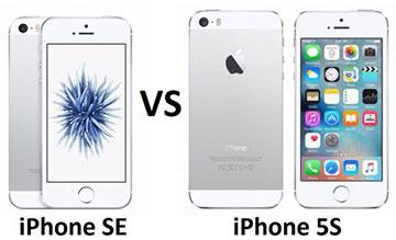 iPhone SE VS iPhone 5S Advantages Disadvantages Comparison