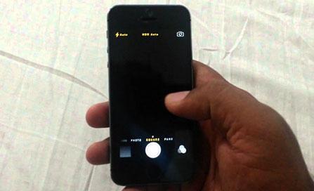 L'appareil photo de l'iPhone 6s se fige