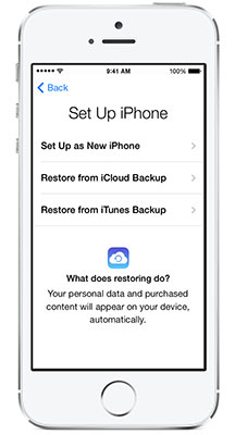 New Iphone 7 Restore From Backup