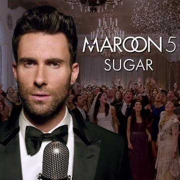 Maroon.5 sugar скачать клип