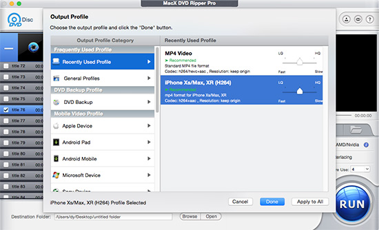 Best Handbrake DVD Rip Settings for iPad