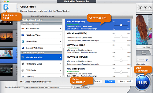 MPG to MP4 Mac: How to Convert MPG to MP4 Like A Pro on Mac OS X