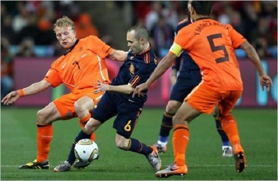 Netherlands vs Spain Match History