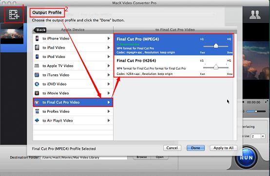 MXF converter for Mac – Convert MXF to MP4, MOV, AVI, etc