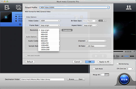 How to convert HD/UHD videos