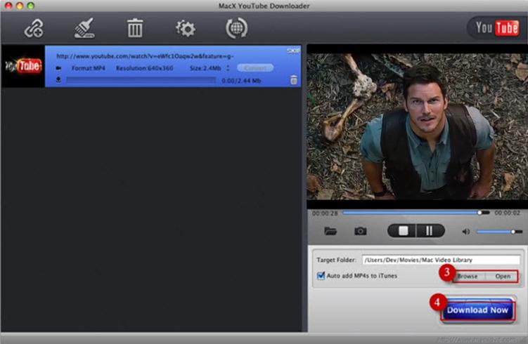 Download movie trailer